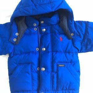 de9fd9699 Ralph Lauren Jackets & Coats - NEW Ralph Lauren baby boy puffer jacket 9M